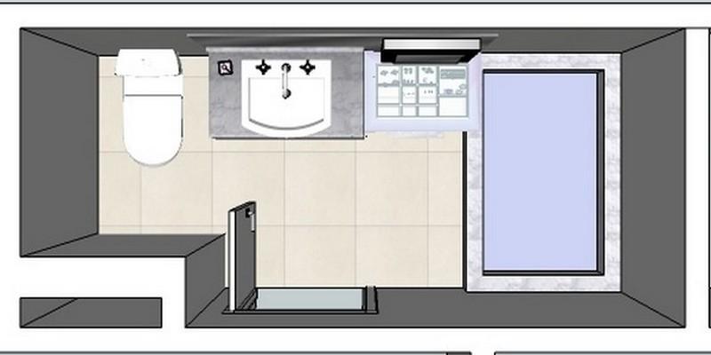 fabianemohr arquitetura -> Medida Minima Banheiro Com Banheira